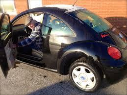 beetle volkswagen black black solar charged electric vw beetle rebblrebbl