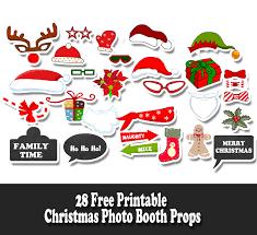 christmas photo booth props free printable christmas photo booth props