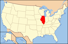 Central Dupage Hospital Map Index Of Illinois Related Articles Wikipedia