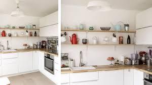 cuisine ouverte sur s駛our existant appartement vétuste de 63m2 composé de 2 chambres sur