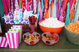 interior design awesome candy themed birthday party decorations