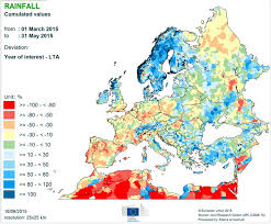 Northwestern Europe Map by Average Annual Precipitation In Europe 550 550 Mapporn