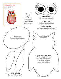 owl crafts patterns pattern technically a paper craft but id let