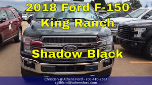 2018 ford f150 king ranch shadow black 3 5l v6 ecoboost walk