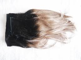 Dirty Hair Extensions by Perfect Match Ombre Hair Extensions