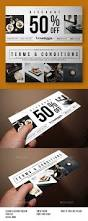 best 25 coupon design ideas on pinterest gift voucher design