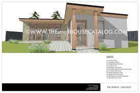 Little House Plans Free No 28 Cedrus Modern House Plan U2014 Small House Catalog