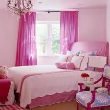 bedroom wall curtains hot pink curtains design ideas