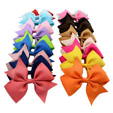 boutique bows 40pcs lot hot sell summer style grosgrain ribbon hair bows girl