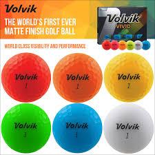 volvik matte finish 3 golf balls all colours dozen