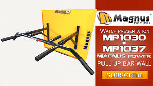 wall mounted chinning bar magnus power wall mounted pull up bars mp1030 mp1037 youtube