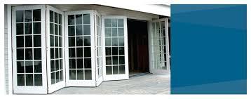 Bi Fold Glass Doors Exterior Cost Bifold Glass Door That Eye Cathcing Mconcept Me