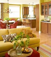 Green Living Room Design Ideas - Green color for living room