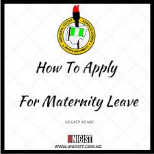 how to apply for maternity leave unigist
