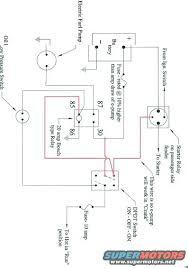 electric fuel pump relay wiring diagram summit fuel pump relay