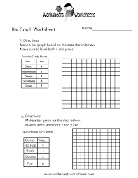 simple bar graph worksheet free printable educational worksheet