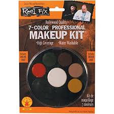 Professional Halloween Costume Amazon 7 Color Professional Makeup Kit Reel Halloween
