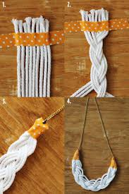diy necklace with rope images Braided rope necklace a beautiful mess