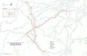 Amarillo Texas Map Multimodalways Burlington Northern Santa Fe Railway Archives Maps