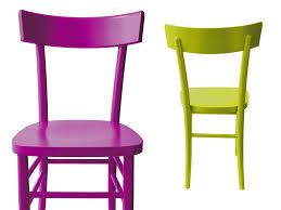 sedie per cucina in legno sedie di legno colorate idee creative su design per la casa e