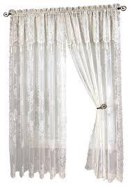 Battenburg Lace Curtains Panels Captivating White Lace Curtains And Lace Trim Curtains Scalisi