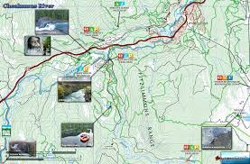 Route 40 Map by Cheakamus River Map