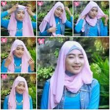 tutorial hijab noura tutorial hijab paris segi empat ke pesta kombinasi tile paris