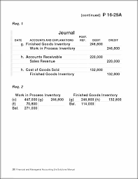 chapter 16 job and process costing 275 problems group a 25 35 min