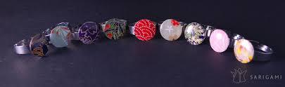 guirlande lumineuse papier japonais bagues en papier japonais sarigami sarigami