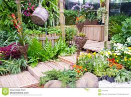 small rooftop garden stock photo image 71093307