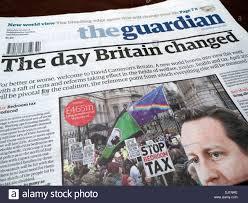 Bedroom Tax Policy Newspaper Headline Headlines Uk Stock Photos U0026 Newspaper Headline