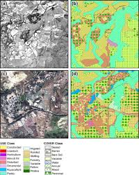 Maps For Imagery And Ecotope Maps For The Dianbai 1 Km 2 Site A 1944