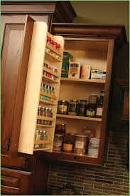 Inside Kitchen Cabinet Door Storage Kitchen Cabinet Door Mounted Storage Luxury Spice Rack