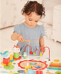 wooden activity table for wooden activity table active toys mothercare