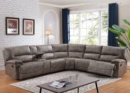 Sectional Sofa With Recliner And Chaise Lounge Furniture Cozy Living Room Design With Small Reclining Sectional