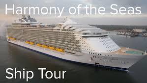 royal caribbean harmony of the seas harmony of the seas full ship tour royal caribbean youtube