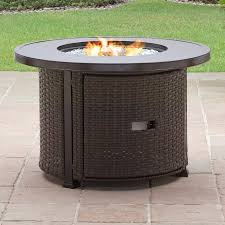 walmart outdoor fireplace table better homes and gardens colebrook 37 gas fire pit walmart com