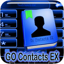 go contacts ex apk blue neon theme go contacts 1 0 muat turun apk untuk android aptoide