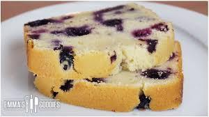 pound cake recipe lemon blueberry pound cake recipe youtube