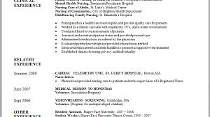 Nurse Practitioner Resume Samples 61 Graduate Nurse Resume Objective Examples 100 Resume
