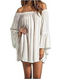 amazon com off the shoulder casual dresses clothing shoes