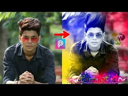 picsart editing tutorial video happy holi colorfull pic editing tutorial video picsart editing