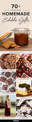 christmas food gift ideas 30 best handmade gifts images on made