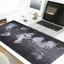 map pad 700x300x3mm large size map mouse pad for laptop computer