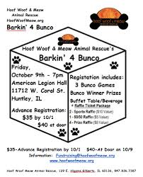 bunco party hoof woof meow animal rescue barkin for bunco party hoof woof