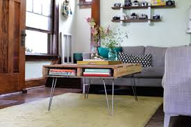 Hairpin Coffee Table Legs Diy Pallet Table With Hairpin Legs