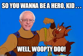 Woopty Doo Meme - when you find out that danny devito supports bernie sanders