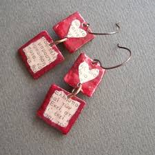 paper mache earrings a few pretty things new earrings