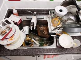 Kitchen Sink Odor Removal by Clogged Kitchen Sink With Sitting Water Decor Mapo House And