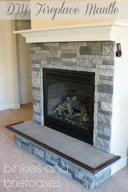 air stone over brick fireplace interior decorating ideas best